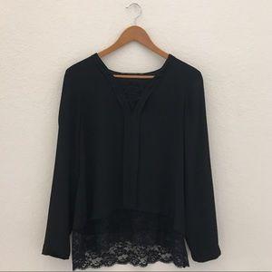 Gorgeous Black Zara Blouse